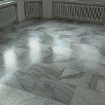 Kristallisierter Marmorboden