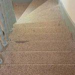 Fertiggestellte Stufen per Trockenschliff